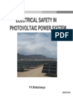 Pkbhattacharyya Electrical Safety Photovoltaic