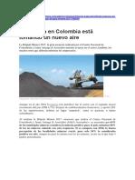La Mineria en Colombia 2017