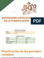 Expresiones Artísticas en La Planificación Clase 2