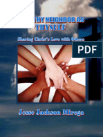 Love Thy Neighbor as Thyself (E-book)