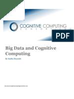 Big Data and Cognitive Computing