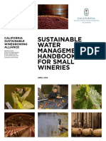 CSWA Sustainable Water Management Guide for Small Wineries
