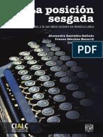 Saavedra y Sánchez Becerril - La posición sesgada. doce Miradas a la narrativa Latinoamericana contemporánea