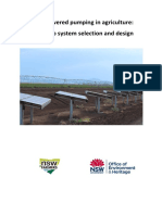 OEH Solar PV Pumping Guide Final Draft 20150521