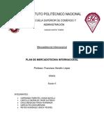 Plan de Mercadotecnia Internacional Final
