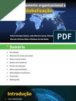 Grupo 2 - A Globalização e o Comportamento Organizacional
