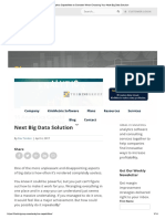 15 Analytics Capabilities to Consider When Choosing Your Next Big Data Solution