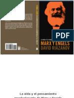 La Vida y El Pensamiento Revolu - David Riazanov