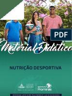 NUTRIÇÃO DESPORTISTA