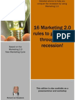 16 rules to beat the recession with marketing 2.0