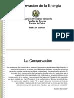Clase Conservacion de La Energia