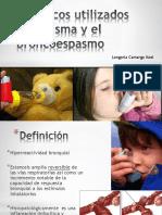 frmacosutilizadosenelasmayelbroncoespasmo-140218024113-phpapp01.pptx