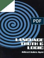 Language, Truth & Logic (AJ Ayer).pdf