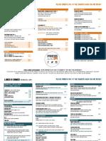 press29 menu  - september 2017
