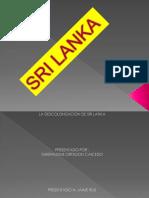 Diapositivas Sri Lanka