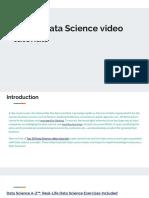 Top 10 Data Science Video Tutorials