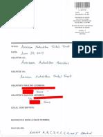 Constructive and Public Notice - Amexem Autochthon Tribal Trust Charta
