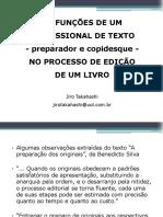 03b as Funcoes de Um Prof de Texto No Processo De