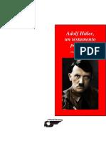 Adolf Hitler Un Testamento Personal