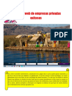 5 Páginas Web de Empresas Privadas Exitosas