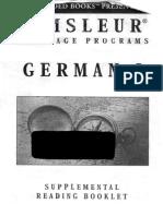 Pimsleur - German I - Booklet.pdf