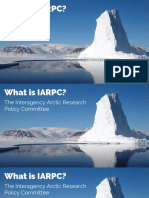 What is the Interagency Arctic Research Policy Committee?