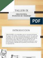 TALLER IX