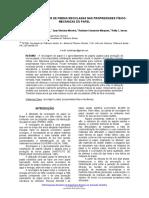 Influencia Do Teor de Fibras Recicladas Nas Propriedades Fisico-mecanica s Do Papel