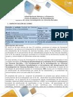 Syllabus Curso Investigación en Ciencias Sociales Doc