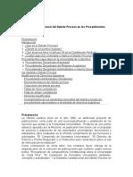 La Garantía Constitucional Del Debido Proceso en Los Procedimientos Universitarios
