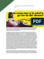 x q No Ha Habido Artistas Mujeres Glosario 05