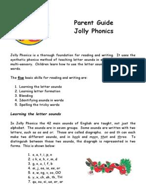 parent-guide-to-jolly-phonics pdf | Phonics | Writing