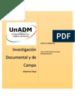Investigación de Documental y de Campo