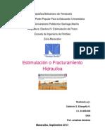 Informe de Estimulacion Hidraulica
