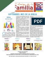 EL AMIGO DE LA FAMILIA 10 septiembre 2017.