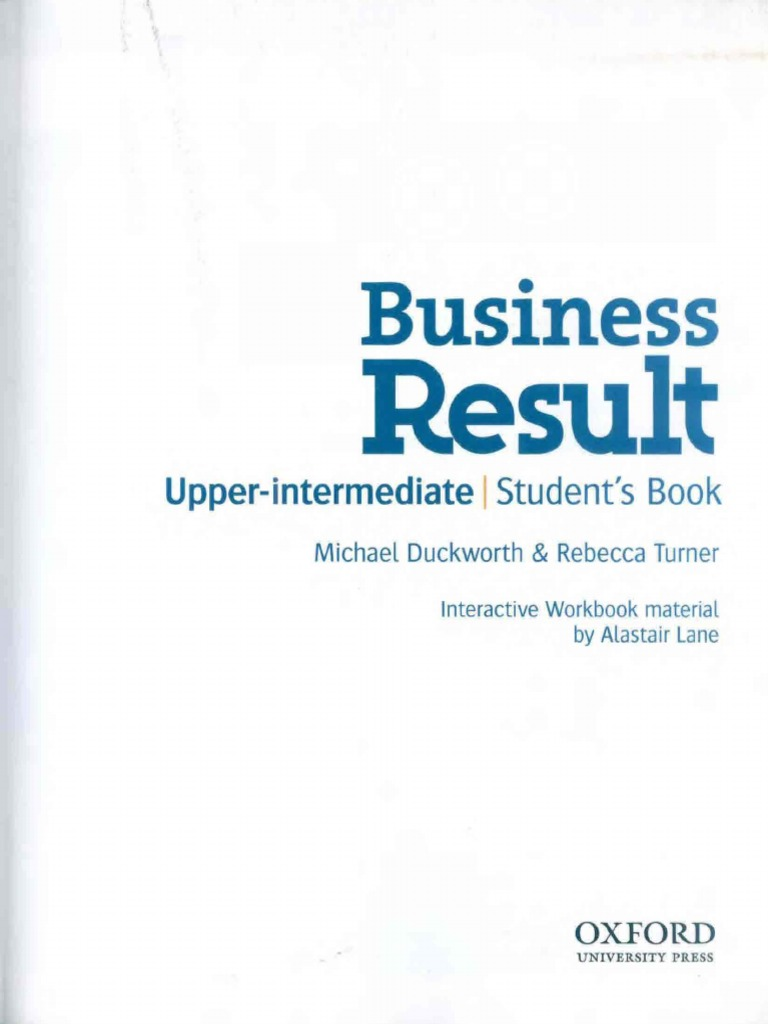 Student - Business Result Upper-Intermediate | Email | Conversation