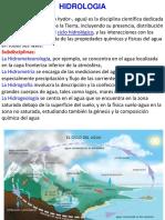 Gráfico Sobre El Ciclo Hidrológico
