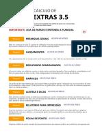 Horas Extras 3.5