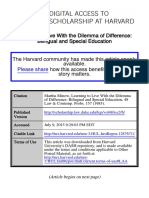 Minow (1985) Learning to Live With the Dilemma of Difference..pdf