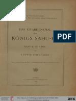 Borchardt_Das Grabdenkmal Des Königs Sahure-Der Bau (Band 1)-1910