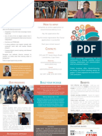 future academy - educational trifold