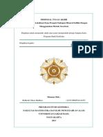 Proposal Tugas Akhir PT ANTAM (Persero) Tbk - Ghiaz - Gravity