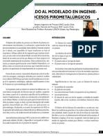 Metsim Aplicado Al Modelado en Ingenieria en Procesos Pirometalurgicos
