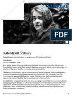 Kate Millett Obituary
