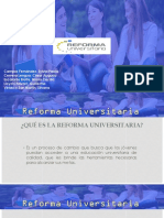 Reforma universitaria 30220