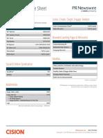 2017 PRN Price Sheet