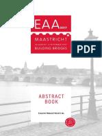 EAA2017 Abstract Book