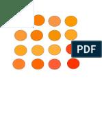 colores naranja