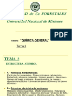 Tema 2 - Estructura Atómica