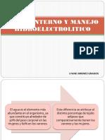 Medio Interno y Manejo Hidroelectrolitico